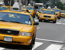 Big yellow taxi ...