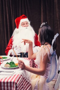 Limited edition PhotoBox calendar documents a year in the life of Santa,  according to the nation's kids