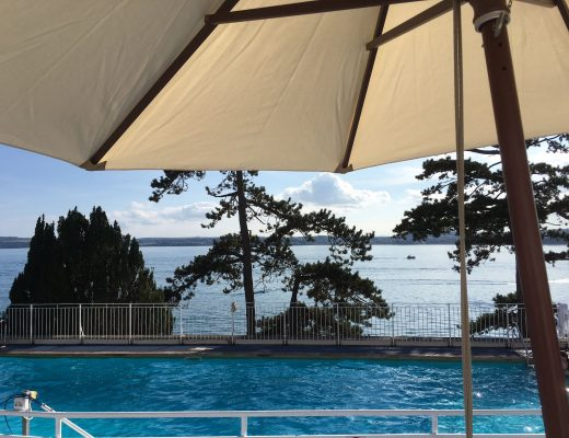 Imperial Hotel, Torquay: the terrace where Miss Marple explains whodunit in Sleeping Murder