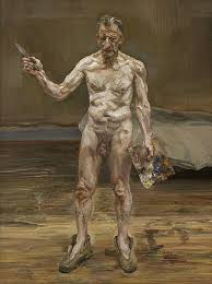 Lucien Freud self portraits Royal Academy