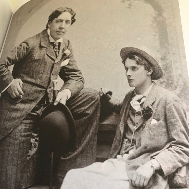 Oscar Wilde and Bosie, Writers' London