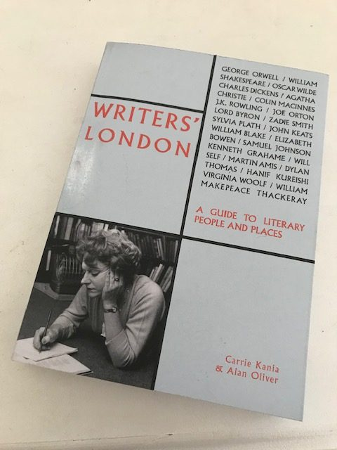 Writers' London Cover Picture